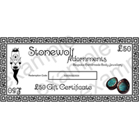 Gift Certificate for £50