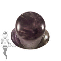 Amethyst 10.5mm Round Labret - Ready To Ship