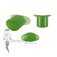 Glass Oval Labret Choose the Colour Made to Order