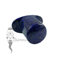 Lapis Lazuli Stone 12mm Round Labret - Ready To Ship