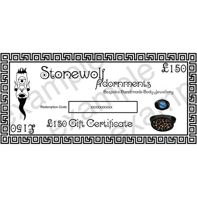 Gift Certificate for £150