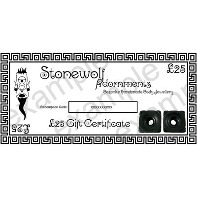 Gift Certificate for £25