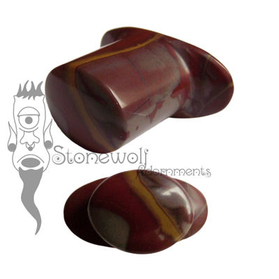 Noreena Jasper Stone Oval Labret Made to Order