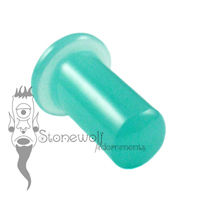 Mint Opalite Glass 6.5mm Round Philtrum Labret- Ready To Ship