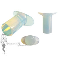 Opalite Stone Round Labret Made to Order