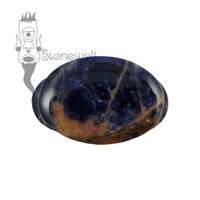Sodalite 26mm Oval Labret - Ready To Ship