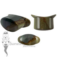 Succor Creek Jasper Stone Oval Labret Made to Order