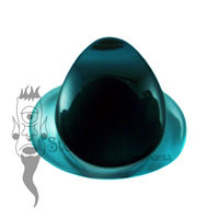 Teal Blue Glass 10.5mm Teardrop Labret - Ready To Ship