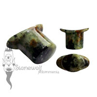 Zoisite Stone Oval Labret Made to Order