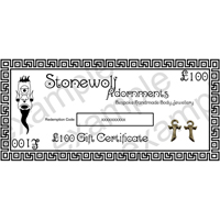 Gift Certificate for £100