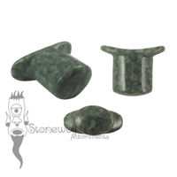 Guatemalan Jadeite Jade Stone Oval Labret Made to Order