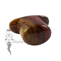 Jelly Bean Jasper 14mm Oval Labret - Ready To Ship