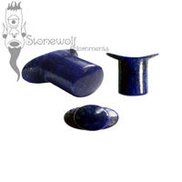Lapis Lazuli Stone Oval Labret Made to Order
