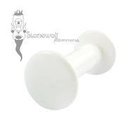 PTFE Transcrotal Barbell For Stretched Piercings - Made to Order