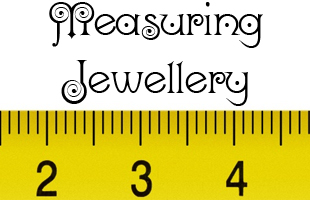 measuring jewellery